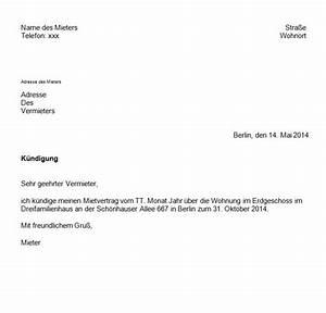 Kündigung Eigenbedarf Frist : mietvertrag k ndigung muster eigenbedarf k ndigung ~ Lizthompson.info Haus und Dekorationen