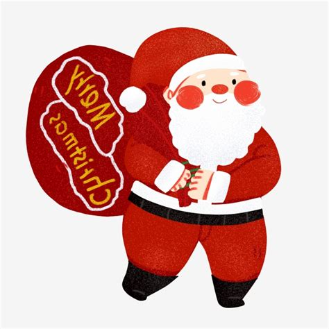 santa claus santa clipart pile  presents png