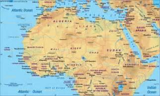 World Atlas Africa Map
