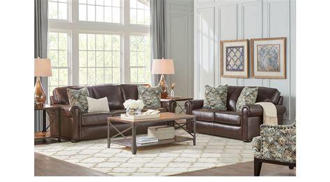valdosta walnut dark brown  pc leather