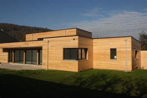maison bois contemporaine meurthe et moselle martin charpentes