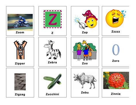 4 letter words starting with z letters free sle letters
