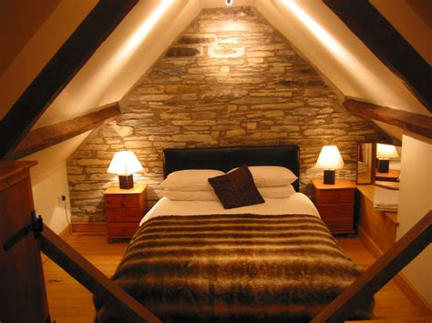 Attractive And Functional Attic Bedroom Design