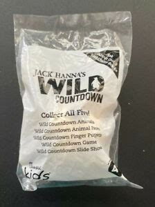 Chick-fil-A Kids Meal Toy Jack Hanna Wild Countdown Animal ...