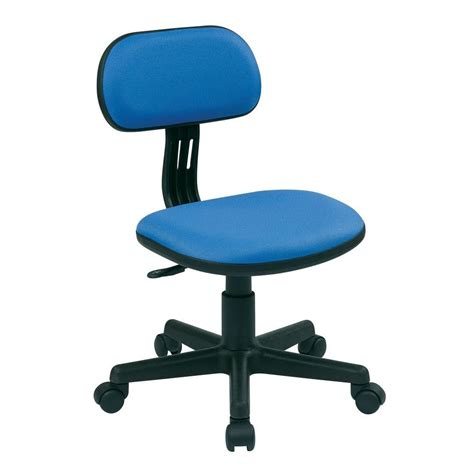 ospdesigns blue fabric office chair 499 7 the home depot
