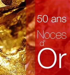 Cadeau Noce D Or : noces d 39 or 50 ans de mariage ~ Teatrodelosmanantiales.com Idées de Décoration