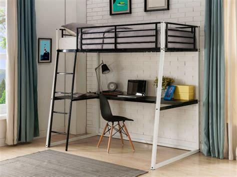 lit mezzanine avec bureau intégré lit mezzanine malicia 90x190 bureau option matelas