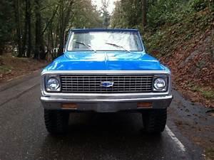 Chevrolet Blazer Convertible 1972 Blue For Sale  1972
