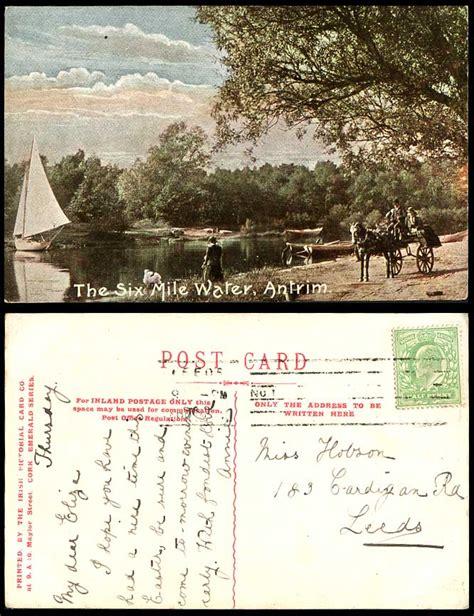 Ebay Boats Northern Ireland by Northern Ireland Postcard The Six Mile Water Antrim