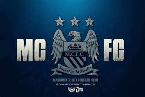 Manchester City Logo Wallpaper ·①