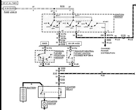 1989 Ford Truck Starter Wire Diagram by 1990 Ford E150 Econoline W 5 8l Installed New Starter