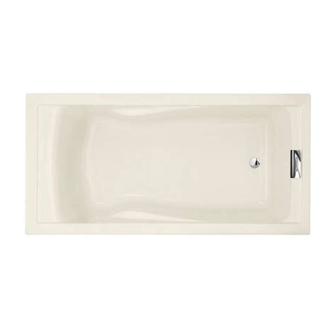 American Standard Mackenzie 45 Ft Bathtub by American Standard Evolution 6 Ft Reversible Drain