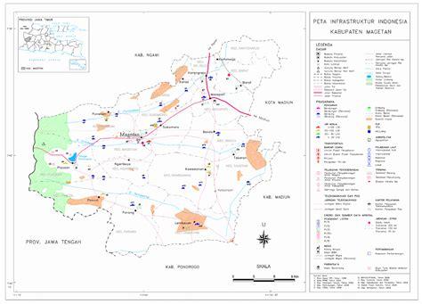 peta kota peta kabupaten magetan