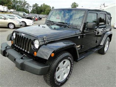 sell  jeep wrangler sahara   repaired salvage
