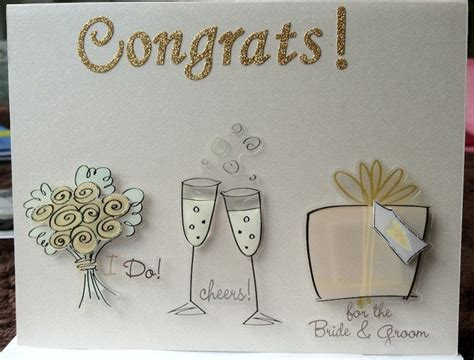 hand  congratulations cards  wedding