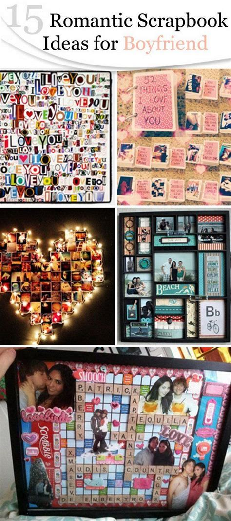 romantic scrapbook ideas  boyfriend romantic