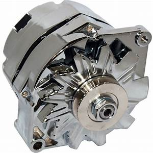 Alternator 140amp For Chrome Ford Falcon Mustang Hotrod 1
