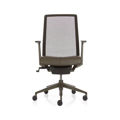 haworth  task chair bark crate  barrel