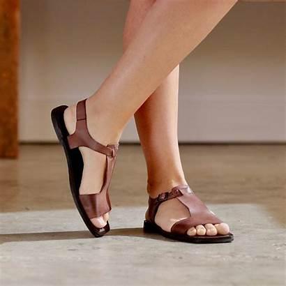 Sandals Leather Brown Gladiator Chocolate Genuine Wulf