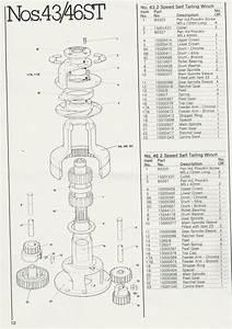 34 Lewmar Windlass Parts Diagram