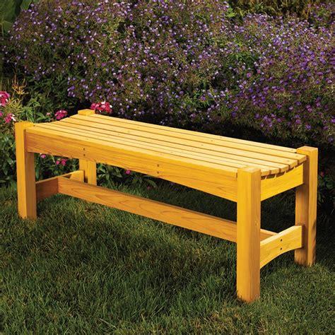 garden bench woodworking plan  wood magazine