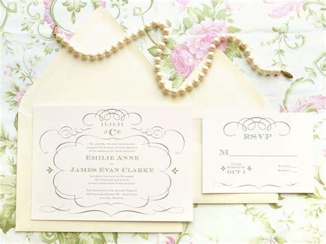 30 Fancy Wedding Invitations Ideas