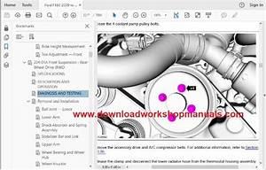 Ford F150 2009 To 2014 Workshop Repair Manual