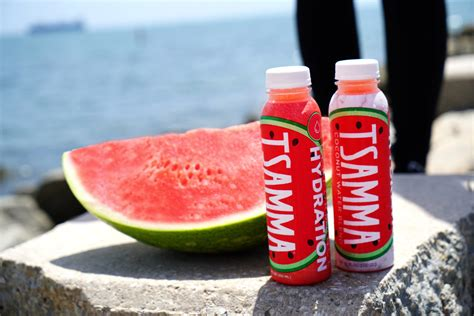 watermelon coconut juice water tsamma blend launches drinks hydrating hydration branding september brand superfruits unite recently released market pressed cold