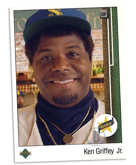 totally fake rookie cards 1989 upper deck ken griffey jr
