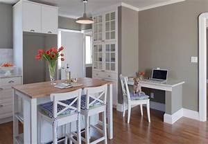 Jenny martin design dope taupes for Kitchen colors with white cabinets with 4 murs papier peints
