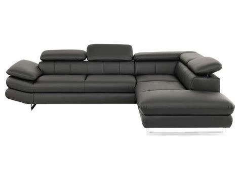 canapé solution conforama canapé d 39 angle fixe droit solution coloris noir