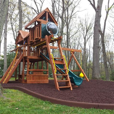 best mulch for playground playground mulch m l hector lawncare 4577