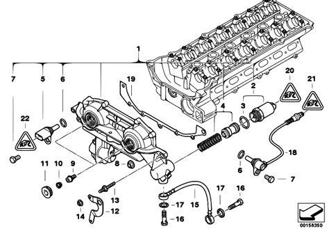 Bmw M52 Engine Diagram by Original Parts For E46 320i M52 Sedan Engine Cylinder