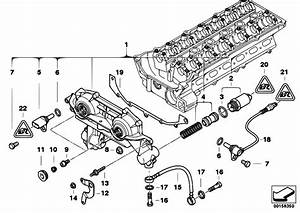 Original Parts For E60 530i M54 Sedan    Engine   Cylinder Head Vanos
