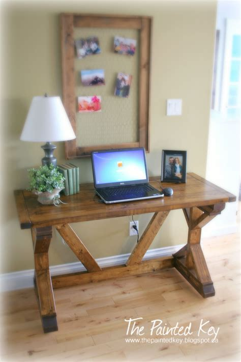 fancy  desk    home projects  ana