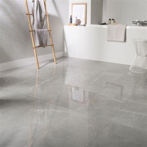 carrelage sol et mur gris effet marbre rimini l 30 x l 60 cm leroy merlin
