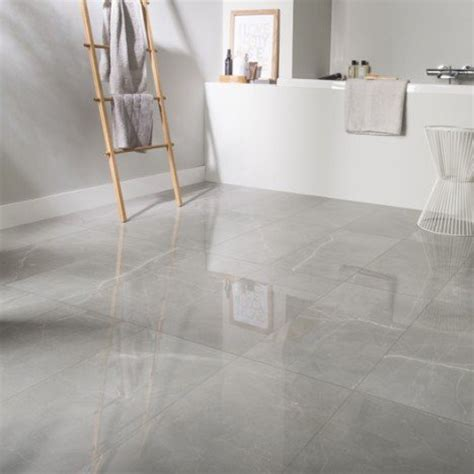 qualité cuisine leroy merlin carrelage sol et mur gris effet marbre rimini l 30 x l 60