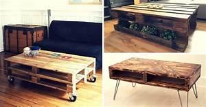 Table Basse Palettes : o acheter une table basse en palette 5 adresses ~ Melissatoandfro.com Idées de Décoration