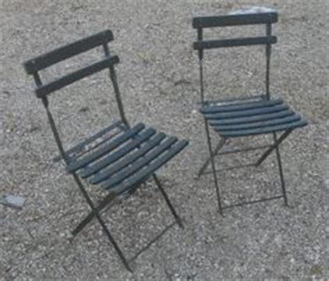 chaise jardin chaises fer forgé ancienne vintage 1900