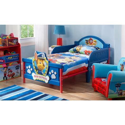 bedroom ideas cama camita infantil 3d para niño paw patrol patrulla