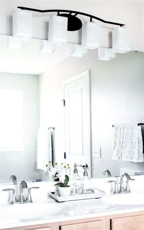Inexpensive Modern Bathroom Lighting by Bathroom Lighting Budget Restraints Mirror Options