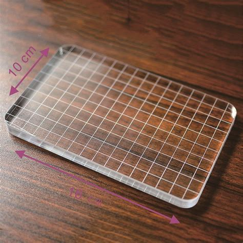 buy diy scrapbooking transparent clear
