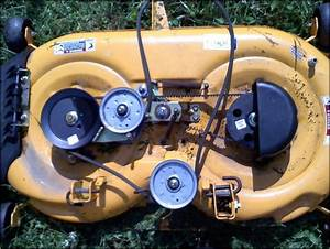 Cub Cadet Ltx 1040 Deck Belt Diagram