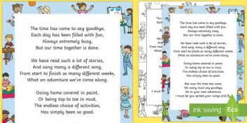 nursery teacher leaving poem   year poetry goodbye