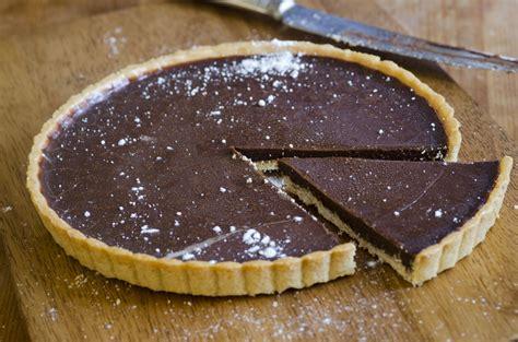 tarte au chocolat facile  rapide la recette