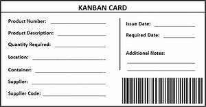 kanban lean toolsetlean toolset With kanban cards template