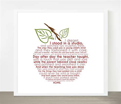 poem for preschool teacher preschool quotes quotesgram 880