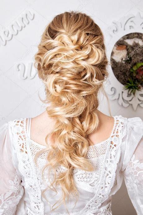 coiffure mariage blonde
