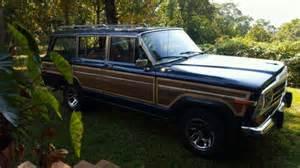 jeep wagoneer blue 1987 dark blue jeep grand wagoneer for sale photos