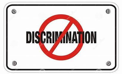 Anti Discrimination Segno Distinzione Rettangolo Het Suitable